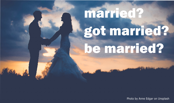 married をちゃんと使い分けられていますか 瞬間英作文 英会話